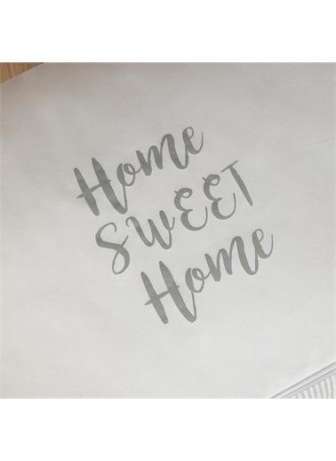 Ocean Home Ocean Home 64 x 41 x 35 Büyük Boy Baskılı Çizgili HurÇ Renkli